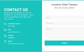 Best Divi contact us layout examples
