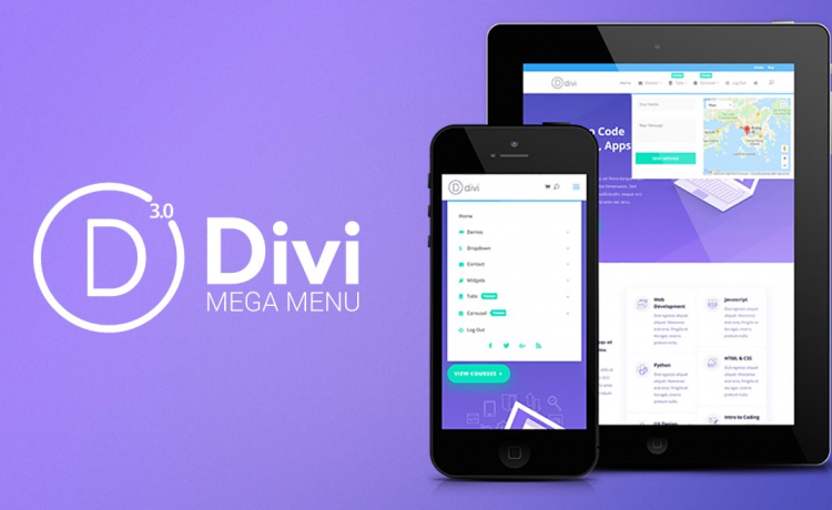 Create a divi mega menu that your visitors will love