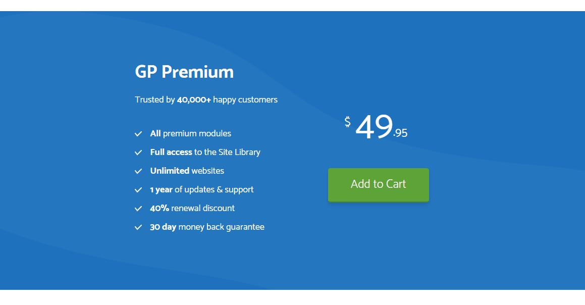price of generatepress